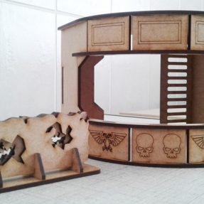 Checkpoint bunker for Warhammer 40K