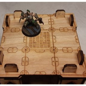 Necromunda small-size tower floor