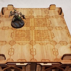 Necromunda medium-size tower floor