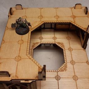 Necromunda large-sized tower floor