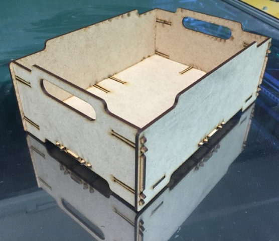 Stackable crates