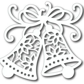 Paper-lace bells overlay